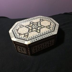 Jewelry - Egyptian Mosaic Jewelry Box Mother of Pearl
